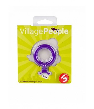 Anello falico in silicone-Village People Sam (oggettistica)