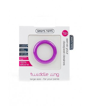 Twiddle Ring - Large - Purple